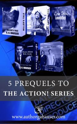 5 Prequels for the Action! Series, GA Hauser