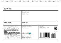 5 UHR TEE (Tischkalender 2019 DIN A5 quer) - Produktdetailbild 13