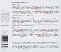50 Best Romantic Piano Classic - Produktdetailbild 1