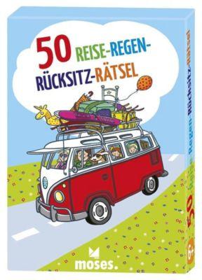 50 Reise-Regen-Rücksitz-Rätsel, Nicola Berger