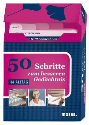 50 Schritte zum besseren Gedächtnis - Im Alltag, Karten, Nicola Berger