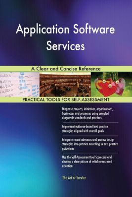 5STARCooks: Application Software Services A Clear and Concise Reference, Gerardus Blokdyk