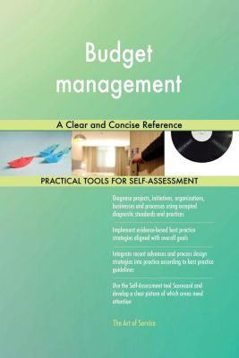 5STARCooks: Budget management A Clear and Concise Reference, Gerardus Blokdyk