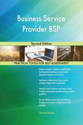 5STARCooks: Business Service Provider BSP Second Edition, Gerardus Blokdyk