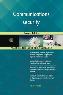 5STARCooks: Communications security Second Edition, Gerardus Blokdyk