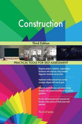 5STARCooks: Construction Third Edition, Gerardus Blokdyk