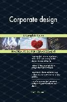 5STARCooks: Corporate design A Complete Guide, Gerardus Blokdyk