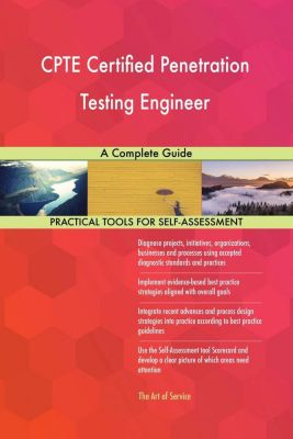 5STARCooks: CPTE Certified Penetration Testing Engineer A Complete Guide, Gerardus Blokdyk