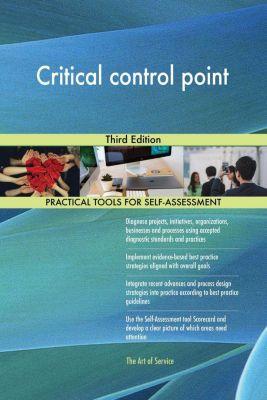 5STARCooks: Critical control point Third Edition, Gerardus Blokdyk
