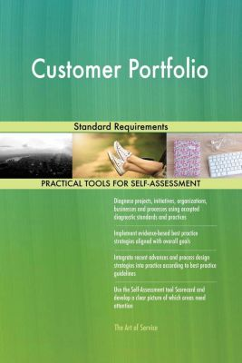 5STARCooks: Customer Portfolio Standard Requirements, Gerardus Blokdyk