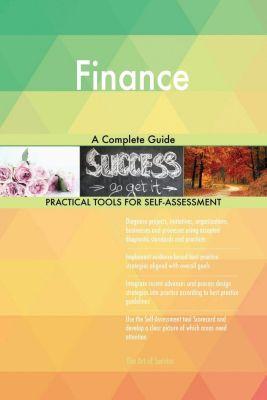 5STARCooks: Finance A Complete Guide, Gerardus Blokdyk