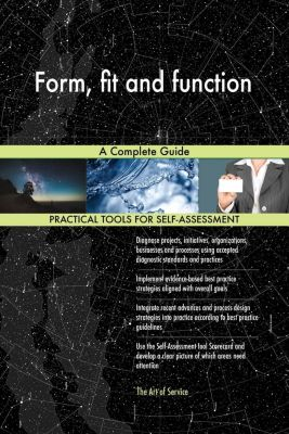 5STARCooks: Form, fit and function A Complete Guide, Gerardus Blokdyk