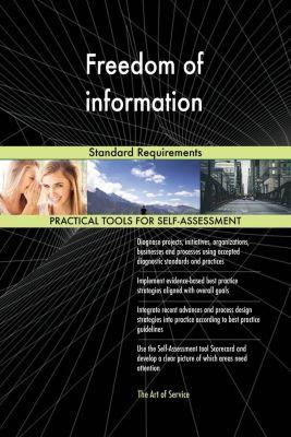 5STARCooks: Freedom of information Standard Requirements, Gerardus Blokdyk