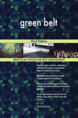 5STARCooks: green belt Third Edition, Gerardus Blokdyk