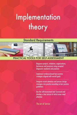 5STARCooks: Implementation theory Standard Requirements, Gerardus Blokdyk