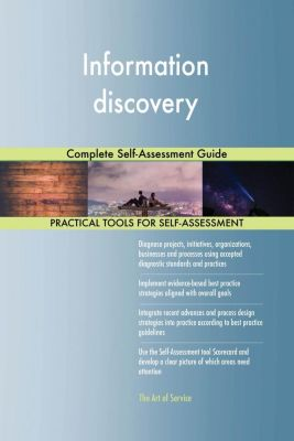 5STARCooks: Information discovery Complete Self-Assessment Guide, Gerardus Blokdyk