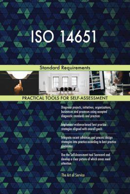 5STARCooks: ISO 14651 Standard Requirements, Gerardus Blokdyk