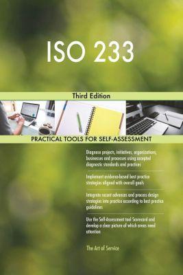 5STARCooks: ISO 233 Third Edition, Gerardus Blokdyk
