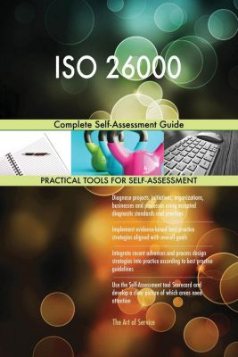 5STARCooks: ISO 26000 Complete Self-Assessment Guide, Gerardus Blokdyk