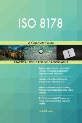 5STARCooks: ISO 8178 A Complete Guide, Gerardus Blokdyk