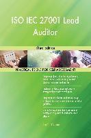 5STARCooks: ISO IEC 27001 Lead Auditor Third Edition, Gerardus Blokdyk