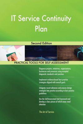 5STARCooks: IT Service Continuity Plan Second Edition, Gerardus Blokdyk