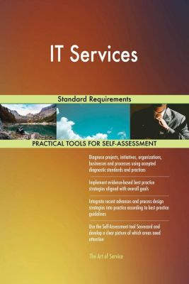 5STARCooks: IT Services Standard Requirements, Gerardus Blokdyk