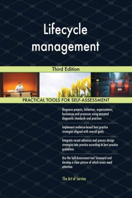 5STARCooks: Lifecycle management Third Edition, Gerardus Blokdyk