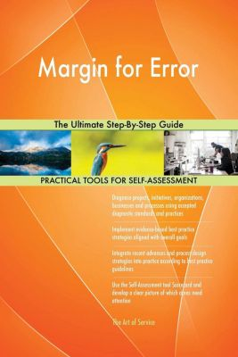 5STARCooks: Margin for Error The Ultimate Step-By-Step Guide, Gerardus Blokdyk