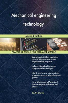 5STARCooks: Mechanical engineering technology Second Edition, Gerardus Blokdyk