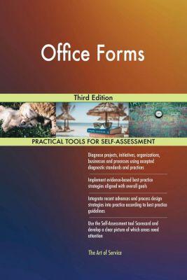 5STARCooks: Office Forms Third Edition, Gerardus Blokdyk