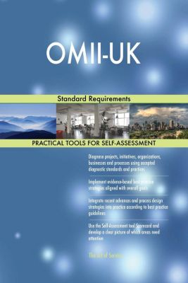 5STARCooks: OMII-UK Standard Requirements, Gerardus Blokdyk