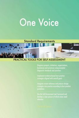 5STARCooks: One Voice Standard Requirements, Gerardus Blokdyk