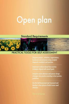 5STARCooks: Open plan Standard Requirements, Gerardus Blokdyk