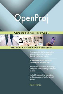 5STARCooks: OpenProj Complete Self-Assessment Guide, Gerardus Blokdyk
