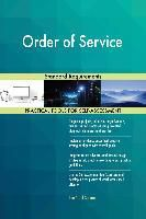5STARCooks: Order of Service Standard Requirements, Gerardus Blokdyk