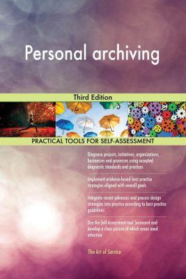 5STARCooks: Personal archiving Third Edition, Gerardus Blokdyk
