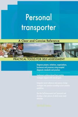 5STARCooks: Personal transporter A Clear and Concise Reference, Gerardus Blokdyk