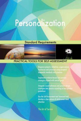 5STARCooks: Personalization Standard Requirements, Gerardus Blokdyk