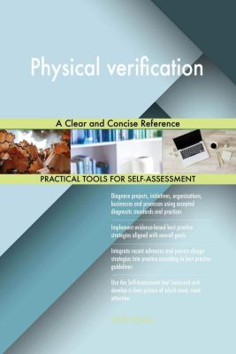 5STARCooks: Physical verification A Clear and Concise Reference, Gerardus Blokdyk