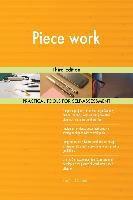 5STARCooks: Piece work Third Edition, Gerardus Blokdyk