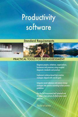 5STARCooks: Productivity software Standard Requirements, Gerardus Blokdyk