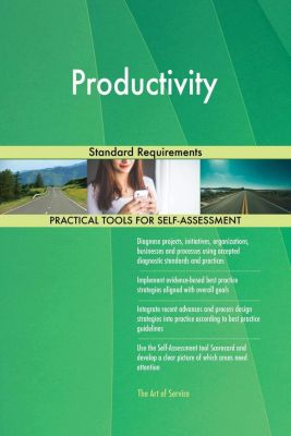 5STARCooks: Productivity Standard Requirements, Gerardus Blokdyk