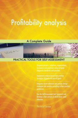 5STARCooks: Profitability analysis A Complete Guide, Gerardus Blokdyk