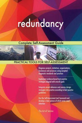 5STARCooks: redundancy Complete Self-Assessment Guide, Gerardus Blokdyk