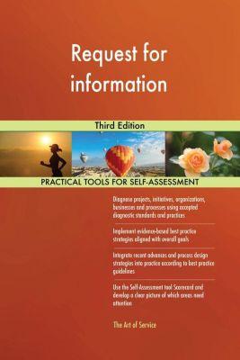 5STARCooks: Request for information Third Edition, Gerardus Blokdyk