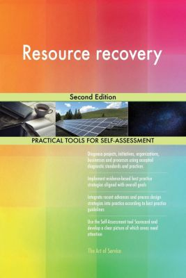 5STARCooks: Resource recovery Second Edition, Gerardus Blokdyk