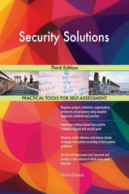 5STARCooks: Security Solutions Third Edition, Gerardus Blokdyk