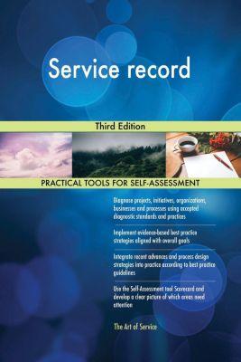 5STARCooks: Service record Third Edition, Gerardus Blokdyk