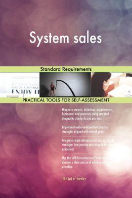 5STARCooks: System sales Standard Requirements, Gerardus Blokdyk